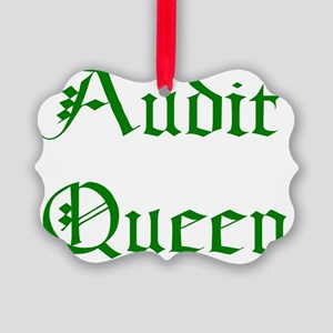 Audit Picture Ornament