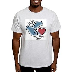 Raynaud's Phenomenon Ash Grey T-Shirt