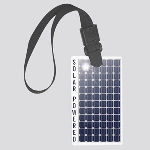 Solar Powered Solar Panel Large Luggage Tag