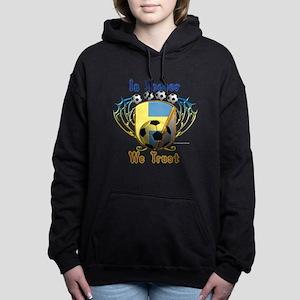 In Soccer We Trust Women's Hooded Sweatshirt