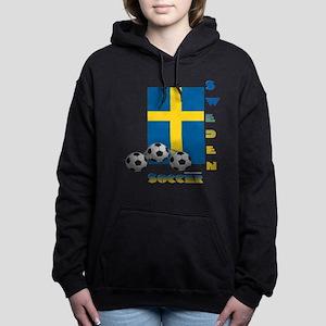 Sweden Soccer Power15 Women's Hooded Sweatshirt