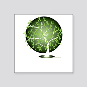 "Non-Hodgkins-Lymphoma-Tree- Square Sticker 3"" x 3"""