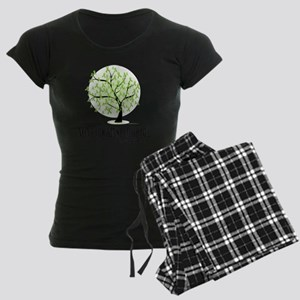 Non-Hodgkins-Lymphoma-Tree Women's Dark Pajamas
