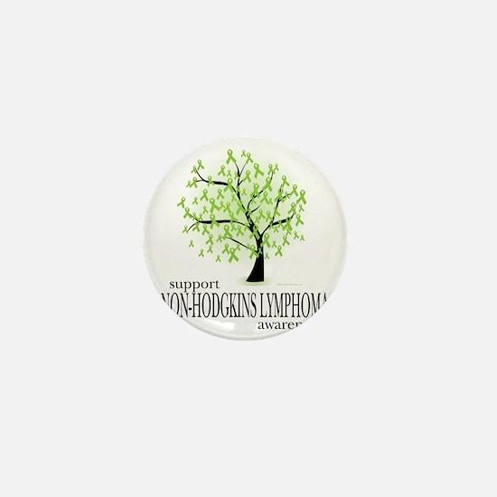 Non-Hodgkins-Lymphoma-Tree Mini Button