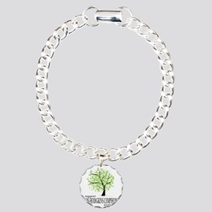 Non-Hodgkins-Lymphoma-Tr Charm Bracelet, One Charm