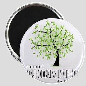 Non-Hodgkins-Lymphoma-Tree Magnet