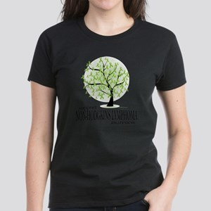 Non-Hodgkins-Lymphoma-Tree Women's Dark T-Shirt