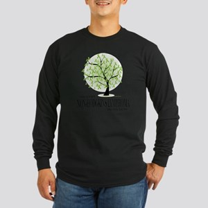Non-Hodgkins-Lymphoma-Tre Long Sleeve Dark T-Shirt