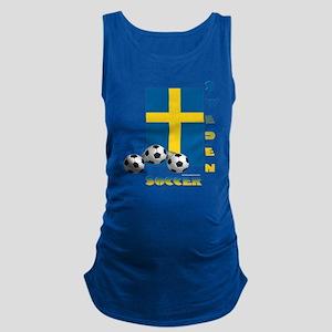 Sweden Soccer Power15 Maternity Tank Top