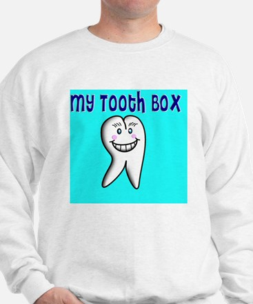 My Tooth Box blue Sweatshirt