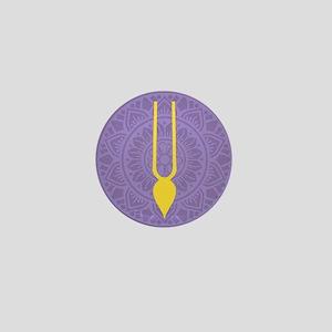 Tilak Purple Mini Button