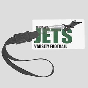 jets_logo Large Luggage Tag
