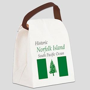 Norfolk_Island2 Canvas Lunch Bag