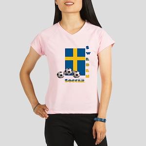Sweden Soccer Power15 Performance Dry T-Shirt