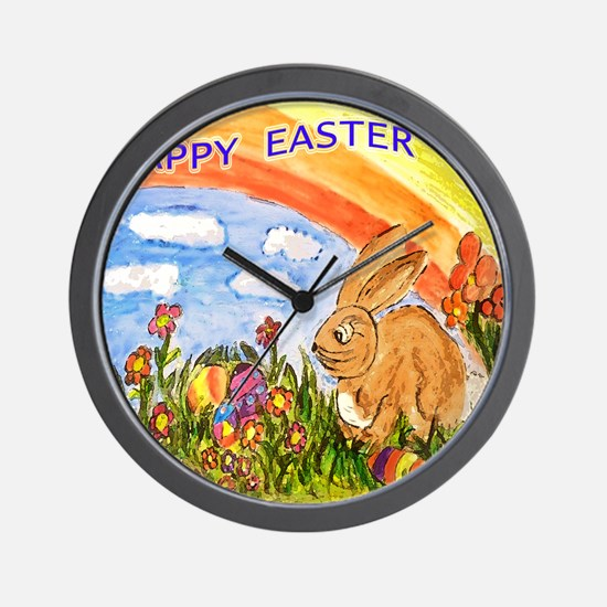 easter apparel Wall Clock
