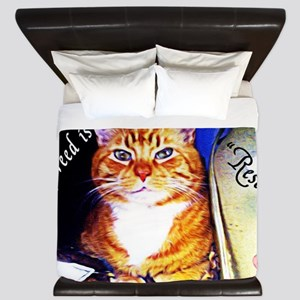 My Breed is Rescued King Duvet