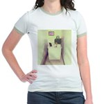 Oh Cubicle Sweet Cubicle Jr. Ringer T-Shirt