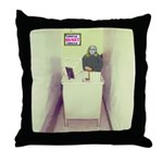 Oh Cubicle Sweet Cubicle Throw Pillow
