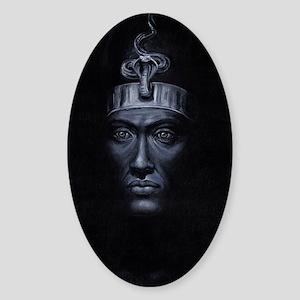 Akhenaten Sticker (Oval)