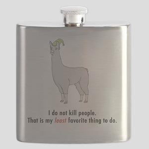 Llamas-D2-iPhone3GCase Flask