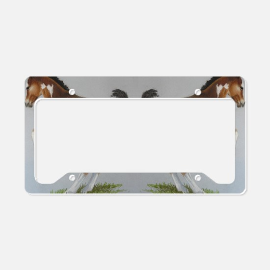 Pring fever License Plate Holder