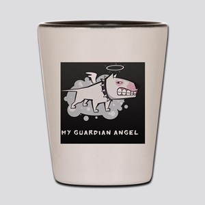 angelblack2 Shot Glass