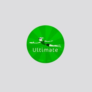 Ultimate Frisbee Mini Button