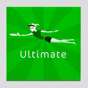 Ultimate Frisbee Tile Coaster
