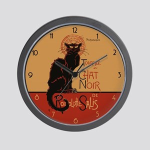 Tournée du Chat Noir Wall Clock