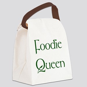 Foodie Canvas Lunch Bag
