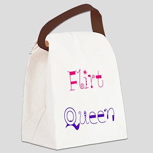 Flirt Canvas Lunch Bag