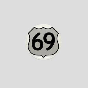 69 Mini Button
