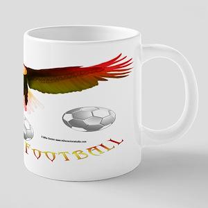 Spain Soccer Eagle 20 oz Ceramic Mega Mug