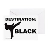 Karate Greeting Cards (10 Pack)