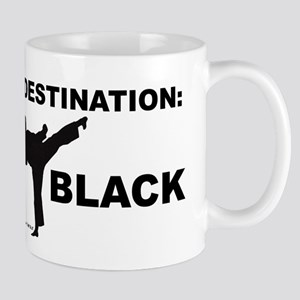 Destination Black 1 Mugs