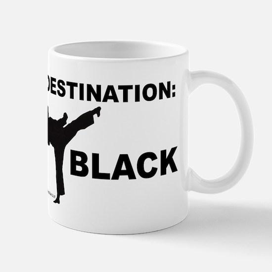 Destination Black 1 Mugs