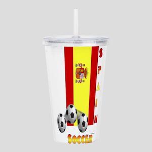 Spain Soccer Power15 Acrylic Double-wall Tumbler