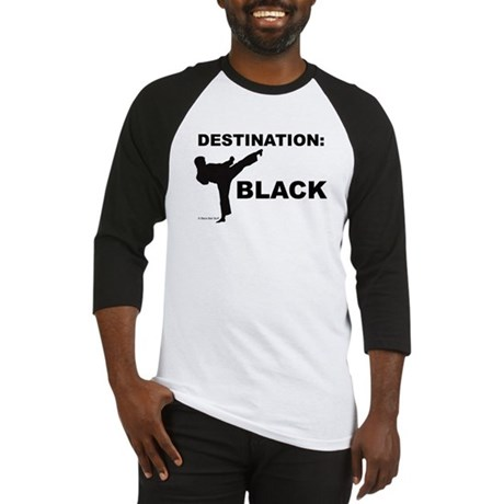 Destination Black 1 Baseball Jersey