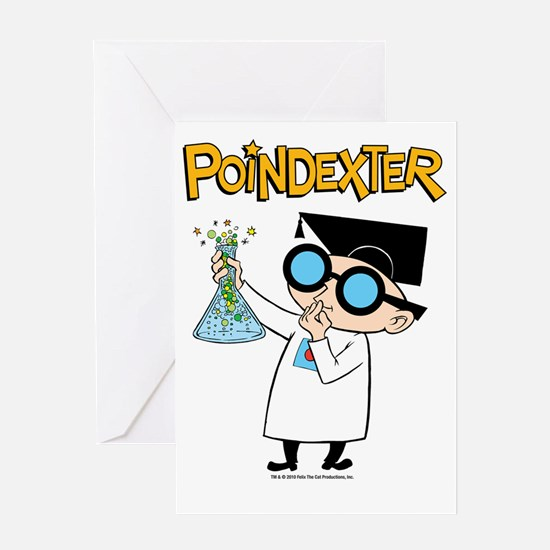 poindexter-test tube Greeting Card