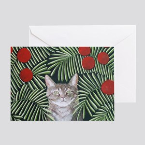 RousseauDreamCat8x10 Greeting Card