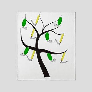 RT Tree 1 Throw Blanket