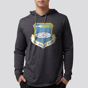 USAF 932D Airlift Wing Mens Hooded Shirt