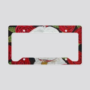 MalteseValentine4x6. License Plate Holder