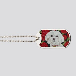 MalteseValentine4x6. Dog Tags
