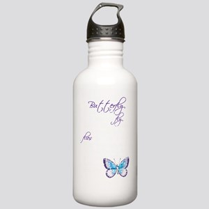 Awareness tee Butterfl Stainless Water Bottle 1.0L