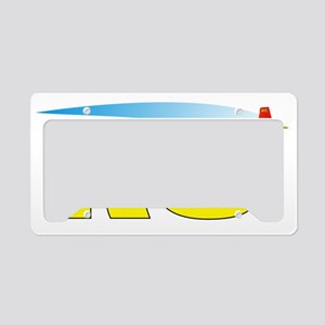 FLYRCplane License Plate Holder