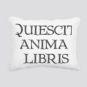 quiescit-three-lines-tra Rectangular Canvas Pillow