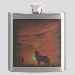 Coyote Howling tp Flask
