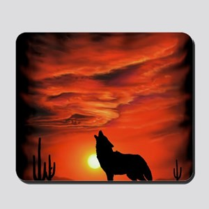 Coyote Howling tp Mousepad