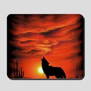 Coyote Howling tp Mousepad